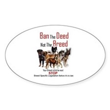 Anti-BSL Oval Decal