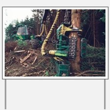 Commercial forestry - Yard Sign