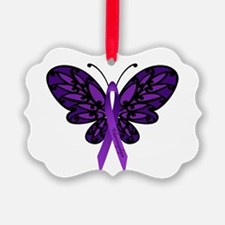 Fibromyalgia Awareness Ornament