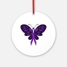 Fibromyalgia Awareness Ornament (Round)