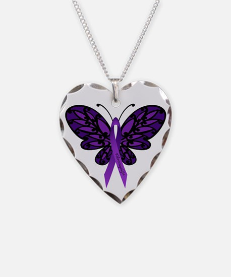Fibromyalgia Awareness Necklace