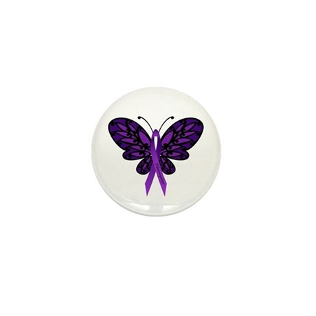 Fibromyalgia Awareness Mini Button