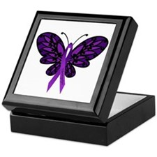 Fibromyalgia Awareness Keepsake Box