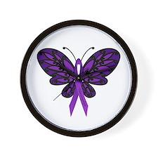 Fibromyalgia Awareness Wall Clock