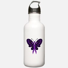 Fibromyalgia Awareness Water Bottle