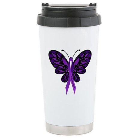 Fibromyalgia Awareness Travel Mug
