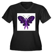 Fibromyalgia Awareness Plus Size T-Shirt