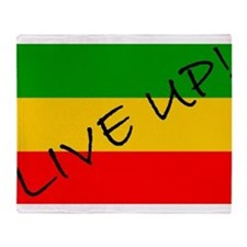 Live Up! Throw Blanket