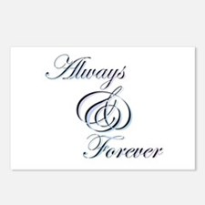 Always & Forever Postcards (Package of 8)
