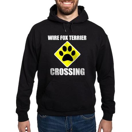 Wire Fox Terrier Crossing Hoodie