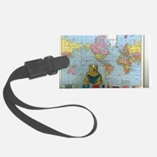 I Can Read To The World. Luggage Tag