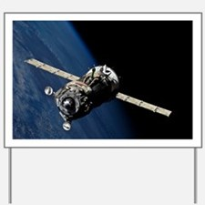 Soyuz TMA-19 departing the ISS, 2010 - Yard Sign