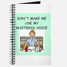 waitress Journal