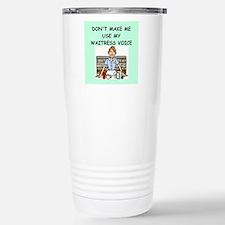 waitress Travel Mug