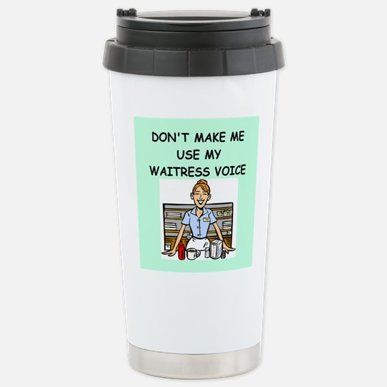 waitress Travel Mug