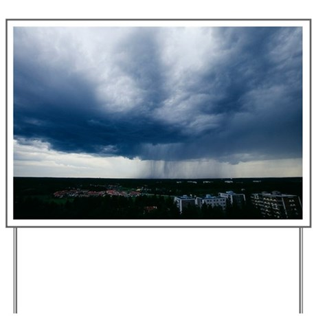 Storm cloud - Yard Sign