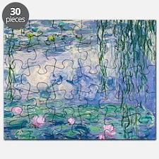 Water Lilies Claude Monet Fine Art Puzzle