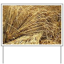 Wheat sheaves - Yard Sign