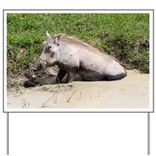 Warthog - Yard Sign