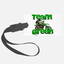 Team Green 2013 Luggage Tag