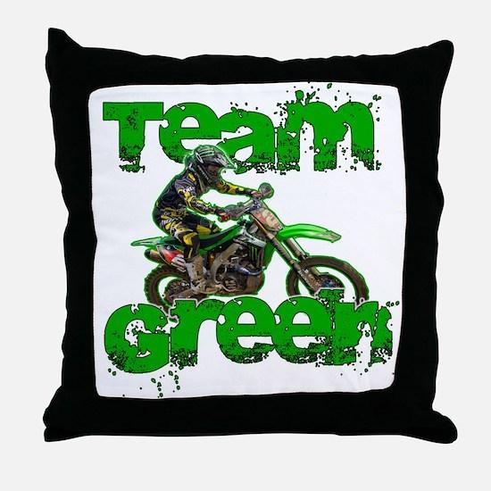 Team Green 2013 Throw Pillow