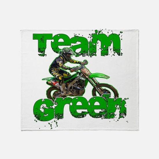 Team Green 2013 Throw Blanket
