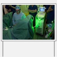 Endoscopic prostate surgery - Yard Sign