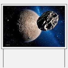 Eris dwarf planet - Yard Sign