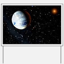 Eta Cassiopeiae planet - Yard Sign