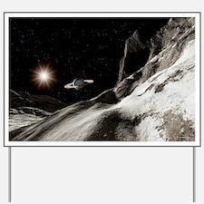 Saturn from Iapetus - Yard Sign
