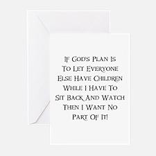 God's Plan Greeting Cards (Pk of 10)