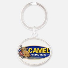Camel Towing Logo Oval Keychain