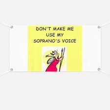 soprano, Banner