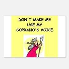 soprano, Postcards (Package of 8)