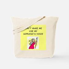 soprano, Tote Bag