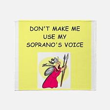 soprano, Throw Blanket