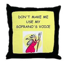 soprano, Throw Pillow