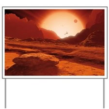 Proxima Centauri planet, artwork - Yard Sign