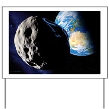 Near-Earth asteroid - Yard Sign