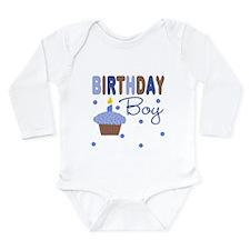 Birthday Boy Cupcake Baby Body Suit
