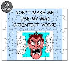 MAD SCIENTIST Puzzle
