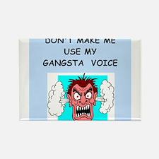 gangsta Rectangle Magnet