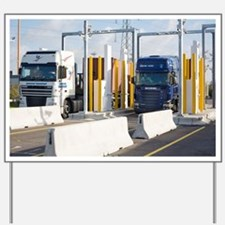Container port security - Yard Sign