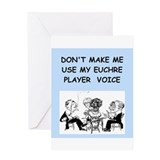 Angry cards Greeting Cards