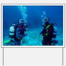 Diver communication system - Yard Sign