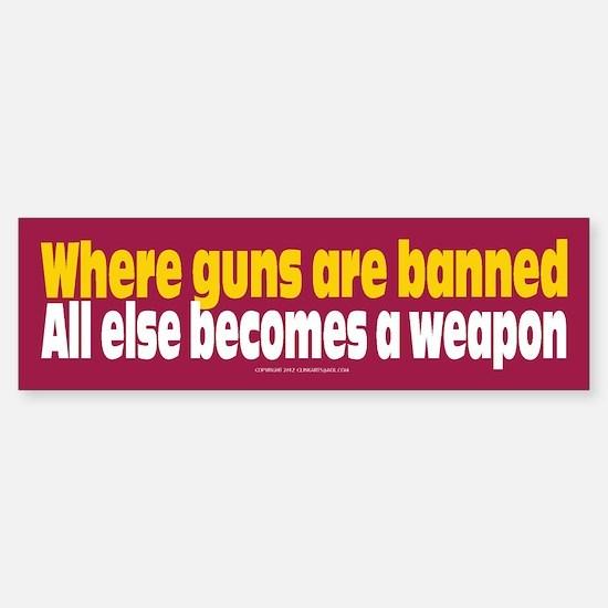 Pro Gun Ownership Bumper Bumper Sticker Bumper Bumper Bumper Sticker