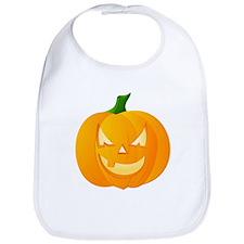 Scary Jack o'Lantern Bib for Halloween