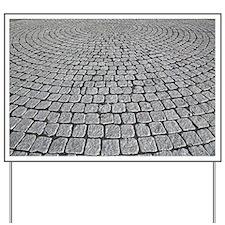 Granite paving - Yard Sign