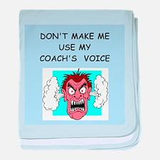 coach baby blanket