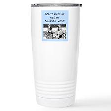 canasta Travel Mug
